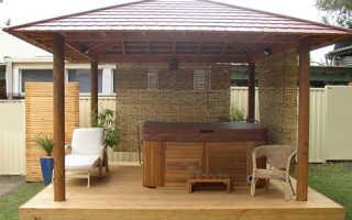 Беседка 3х3 м своими руками: как построить на даче из дерева, пошаговое строительство с фото, высота крыши