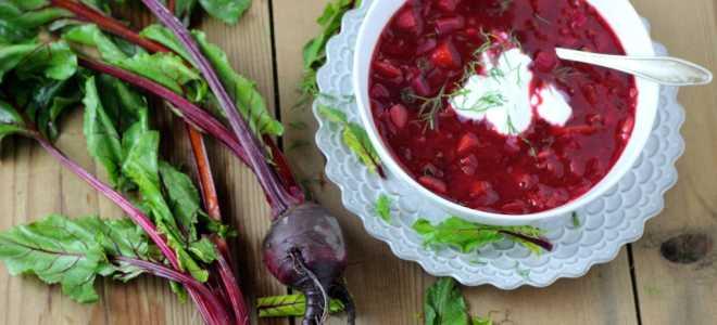 Как вкусно замариновать свёклу и ботву на зиму в банках: рецепты для борща, салатов