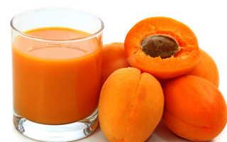 Абрикосовый сок: польза и вред, калорийность и химический состав, как приготовить