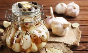 Маринованный чеснок на зиму: лучшие рецепты
