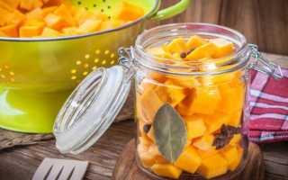Как замариновать тыкву: лучшие рецепты в домашних условиях, пошаговое приготовление, полезные советы