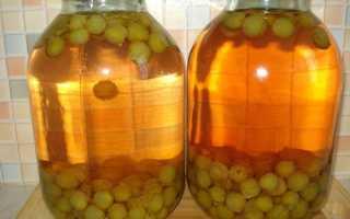 Компот из винограда на зиму без стерилизации — простой рецепт