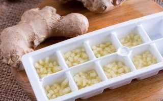 Можно ли замораживать имбирь, основные способы: с лимоном, свежий, маринованный, тёртый