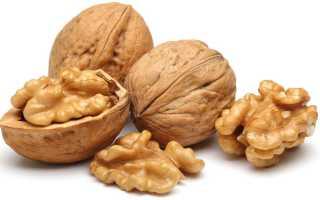 Грецкий орех на голодный желудок: при гипертонии, показания и противопоказания