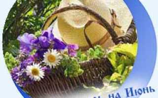 Лунный посевной календарь на июнь 2020 года – благоприятные дни