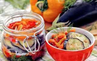 Как закрыть баклажаны на зиму без стерилизации: пошаговые рецепты с фото, видео