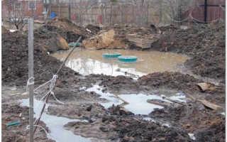 Пруд на участке с грунтовыми водами: при высоком уровне грунтовых вод, как правильно сделать на участке, как