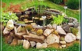 Пруд на склоне своими руками: как сделать декоративный водоём, требования к пруду, планировка, кладка и наполнение водой