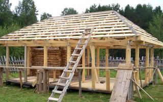 Беседка с четырёхскатной крышей: как сделать стропила своими руками, пошагово с фото, как построить стропильную систему для