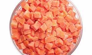 Как заморозить морковь: способы заморозки на зиму в домашних условиях, сроки хранения