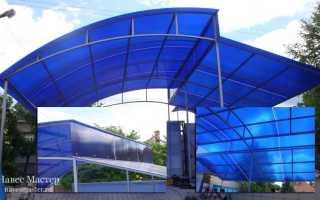 Навес над террасой: как сделать козырёк из поликарбоната быстро и дёшево, подведение навеса под крышу дома, эскизы,