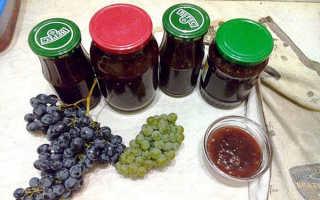 Как приготовить джем из винограда на зиму в домашних условиях: простой рецепт