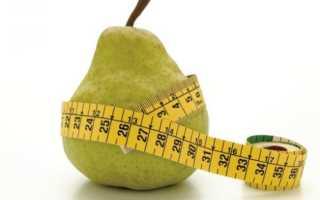 Груши для похудения – можно ли есть, польза и вред, правила диеты