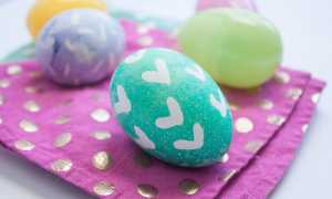 Как красиво покрасить яйца на Пасху, своими руками с фото и видео