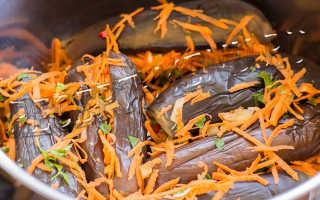 Квашеные баклажаны, фаршированные овощами на зиму: пошаговое приготовление, фото