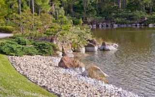 Как укрепить берег пруда на даче: укрепление береговой линии водоёма на дачном участке своими руками, как предотвратить