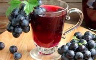 Компот из винограда белого: пошаговое приготовление, лучшие рецепты
