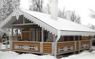 Баня с беседкой под одной крышей: фото пристройки к дому с барбекю, как построить с бассейном своими