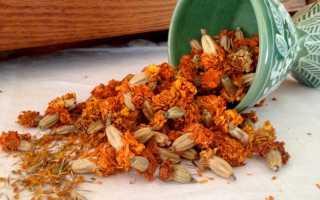 Имеретинский шафран: как сушить бархатцы, применение, заготовки, из чего делают шафран, рецепты