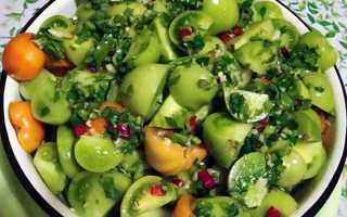 Маринованные зеленые помидоры быстрого приготовления: лучшие рецепты