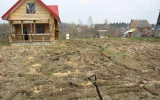 Как выровнять участок на даче своими руками под газон с травой, выравнивание земли мотоблоком и с помощью
