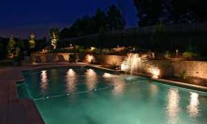 Светодиодная подсветка для фонтана: разноцветный свет для дачи, фонтан из земли с освещением, как установить светодиоды своими