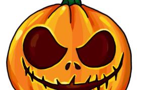 Рисунок тыквы на Хэллоуин: как нарисовать поэтапно, как можно разрисовать готовую тыкву